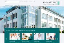 Emma Klinik und Chirurgie | Orthopädie Rhein-Main / FuP unterstützt die Emma Klinik in Seligenstadt und das Ärzte-Netzwerk Chirurgie | Orthopädie mit Marketing und PR Know-How.