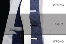 Ties and tie clips / Creative and unique ties and tie clips