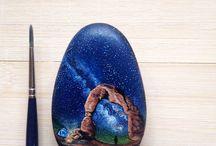 Рисунки на камне / Рисунки на камне