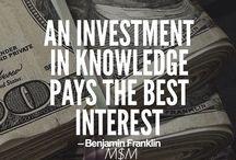 Finances / Smart money ideas / by Sarah Arquette