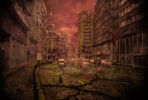 Post Apocalyptic / The Post Apocalypse Genre, Style, Look, Feel and everything else about it, is my ultimate favorite thing. Here is a collection off the images that have inspired my plethora of Game and Film ideas