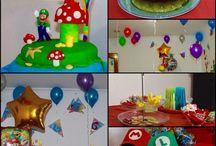 Fiesta Mario broos, cumpleaños / Fiesta cumpleaños  guille#6. Mario bríos