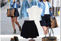 Denim Skirt/Jackets