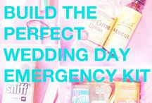 Wedding Emergency Kit & Beauty must-haves for a destination wedding / Whether you are planning a destination wedding or an event closer to home, our Wedding Emergency Kit will help ensure your day runs smoothly - even when the inevitable hiccup happens. Read more on our blog at: http://www.extraordinaryweddings.com/en/blog/wedding-emergency-kit.html