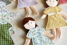 Dolls/Doll Clothes/Doll Stuff / Ideas for my niece's American Girl Dolls,
