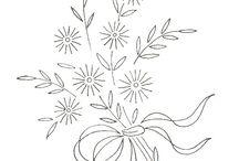 Çizimler çiçek
