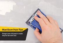 Must Know Paint Tips / Useful paint tips for your home!