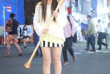 Shibuya River-girls Street Snap