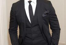 Dressing up my man ;)