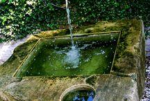voda v zahradě (water feature...)