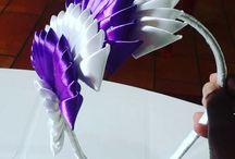 Satin ribbon accessories