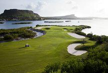 Destination Golf / Pete Dye's 18-hole, Par 72, Old Quarry Golf Course is one of the premier golf courses in the Caribbean. #Golf #DestinationGolf #Curacao #Caribbean