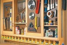 Garage/workshop ideas / by Christina Craft-Henson
