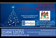 Skindeepstudios Christmas Promotional Offers / Pre-Book your 3 for 2 Microdermabrasion Facial or IPl Laser Treatments at Exclusive Prices. Book Now to avoid any disappointment: on 01494 520755 or inbox skindeepstudios@live.co.uk