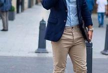 outfit / lyseblå skjorte