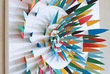 3 boyutlu kağıt sanatı