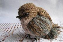 Yarn birdie
