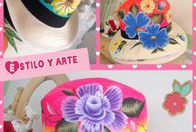 Sombreros pintados a mano /  Sombreros pintados a mano $ 35000 Info whatsApp 3208098390
