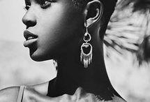 Black women hair