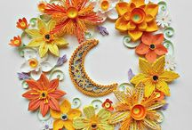 My quilling works 2018