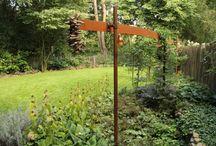 Bostuinen / Tuinen die naadloos overgaan in een bosrijke omgeving