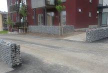 Gabions -kivikorit ympäristörakentamisessa / Ekikori kohdetoteutuksia ympäristörakentamisessa.