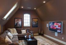 Media and living room / by Morgan Langham
