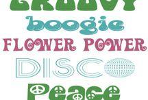 seventies party ideas
