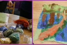 Wet Felting Classes / At Beading Crafty you can learn to create your own masterpiece out of felt.