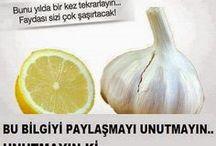 sarımsak limon mucizesi