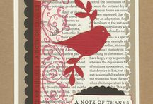 A little birdie told me... / Stampin' Up! has a bird punch, an exclusive Sizzix die, and bird stamps galore!