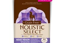 Holistic Select / Holistic Select carries a variety of flavors for both dogs and cats.