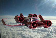 aerei  futuristici
