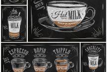 carteles de cafe