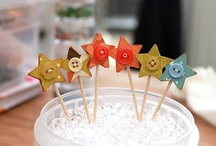 Cupcake & Cake Toppers / Cupcakes are cute and so are toppers / by Kathy Skaggs
