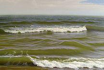 sea painting rusian