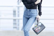 Jung Jessica wearing jeans