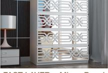 FRETWORK PANELS / Find here the most amazing FAST LAYERS. Redesign your furniture in your Home or Office. Glam up all your furniture with these easy-to-apply FAST LAYERS! You will be amazed by the final results!