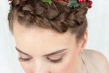 Christmas Hair Inspiration