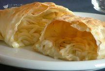 Pasta Filli con ripieno di belga al forno