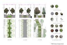 Grønne gater og gatemøbler