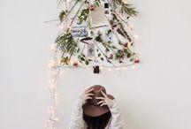 """35 schöne Alternativen zum Weihnachtsbaum / """"Oh Tannenbaum, oh Tannenbaum, wie grün sind deine Blätter."""" – Die nadelnde Nordmanntanne kommt Dir dieses Jahr nicht ins Haus? Kein Problem! Mit diesen Ideen gibt es Festtagsstimmung ohne Nadelgrün."""