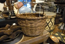 Baskets / I love Basket. You can put so many things in them.