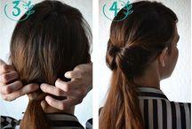 Hair - Penteados / Penteados diferentes