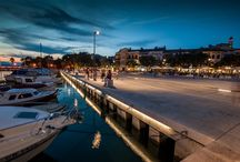 Promenade Crikvenica / At the public tender for landscaping of Center of town Crikvenica held in 2011, the project of architectural team NFO took the first prize. Telektra was in charge for the lighting solutions.