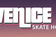 Venice Skate House / Trabalhos de estilização de logotipo e panfletos