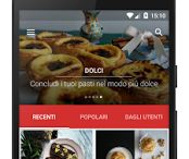 Recipe Android App / In our Android App you'll find the great classics of gastronomy, italian and International cuisine, and some new ideas we prepare getting inspired by our work and our guests. Anyone can cook, sometimes you just need a guide, an image that gives you the idea, an advice to ensure the success of your dishes :) Tasty! Your perfect guide between pots and stoves.  The italian version is called Saporito!