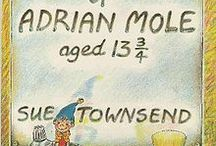 THE SECRET DIARY OF ADRIAN MOLE AGED 13¾ SUE TOWNSEND book's covers