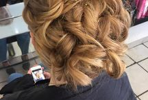 Hair up / Prom, Bridal party or fancy just having your hair styled for an evening out...check out our styles to help give you the inspiration you need :)