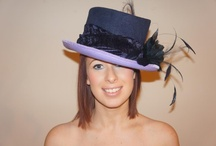 Millinery Creations / A selection of hats and fascinators handmade by Jackie Howell.  All available to purchase or hire online https://jackiehowell.co.uk
